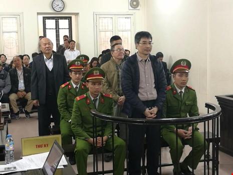 Giang Kim Đạt tại phiên tòa