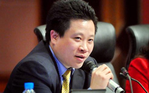 Cựu Chủ tịch HĐQT NH Oceabank Hà Văn Thắm thời đương chức.