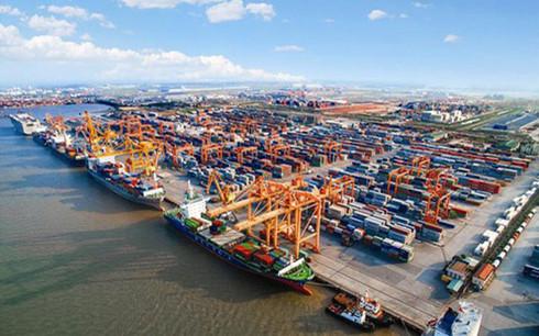 Tổng công ty Hàng hải Việt Nam hoạt động trong các lĩnh vực vận tải biển, cảng biển và dịch vụ hàng hải. (Ảnh minh họa: KT)