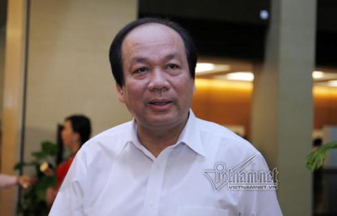 Bộ trưởng - Chủ nhiệm Văn phòng Chính phủ Mai Tiến Dũng. Ảnh Phạm Hải/Vietnamnet