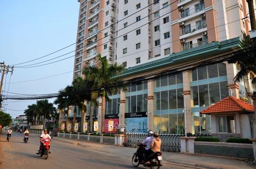 Chung cư Ruby Land, quậnTân Phú, TP HCM Ảnh: Tấn Thạnh