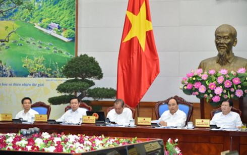 Thủ tướng chủ trì phiên họp thường kỳ Chính phủ tháng 6 (Ảnh: chinhphu.vn)