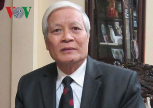Ông Nguyễn Viết Chức, nguyên Phó Chủ nhiệm Ủy ban Văn hóa Giáo dục, Thanh Thiếu niên nhi đồng của Quốc hội