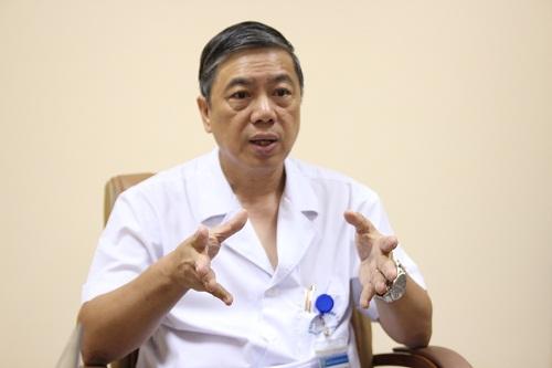 PGS Võ Thanh Quang - Giám đốc BV Tai Mũi Họng trung ương