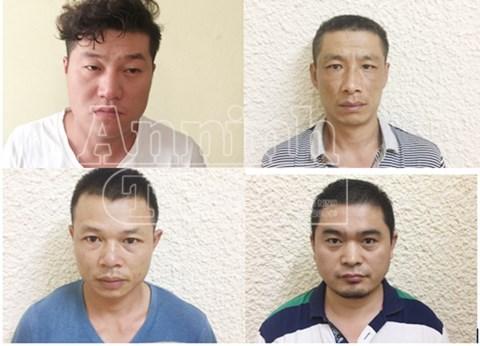 Nhóm đối tượng người Trung Quốc do Shao Hai Meng cầm đầu