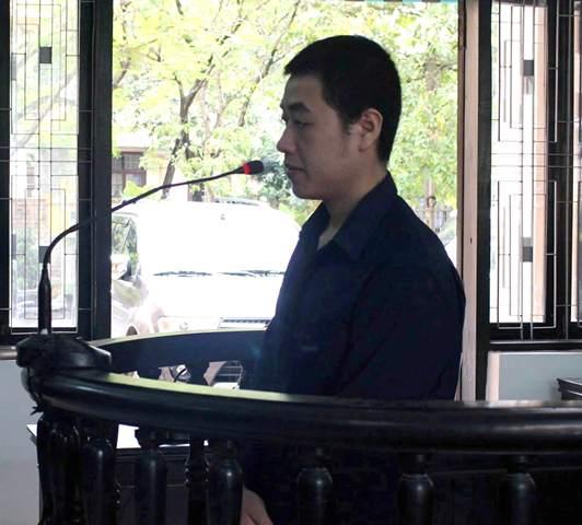 Bị cáo Nguyễn Hoàng Tâm.