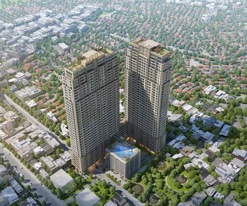 Các dự án quy mô lớn của Trung Thủy đang ồ ạt đổ bộ ra thị trường thời gian qua.
