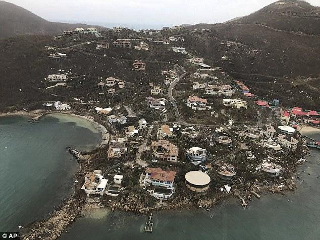 Quần đảo British Virgin Islands được cho đã thiệt hại tới 1 tỷ USD sau cơn bão Irma.