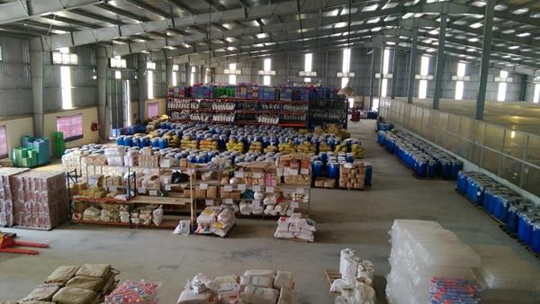 Nhà kho lớn của doanh nghiệp Hồng Lam ở Khu công nghiệp Quang Minh - Vĩnh Phúc.