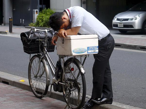 Tình trạng lao động bị vắt kiệt sức lực đang ngày một gia tăng ở Nhật Bản - (Ảnh minh họa).