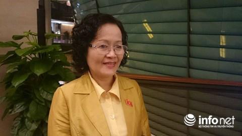 Đại biểu Quốc hội Trần Thị Quốc Khánh, Ủy viên thường trực Ủy ban Khoa học, Công nghệ và Môi trường của Quốc hội.