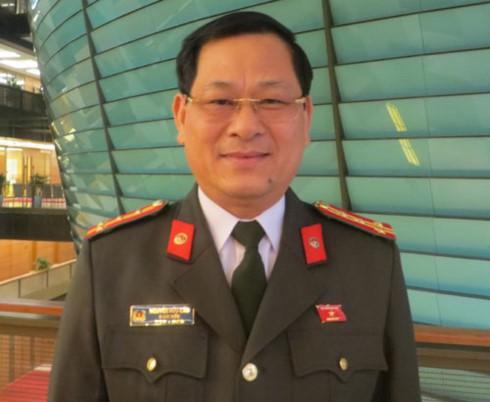 Ông Nguyễn Hữu Cầu, Giám đốc Công an tỉnh Nghệ An.