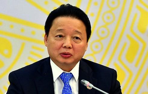 Bộ trưởng Trần Hồng Hà