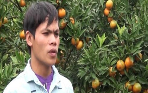 Chàng trai trẻ người dân tộc Dao Triệu Văn Mừng. (Ảnh: sonlatv)