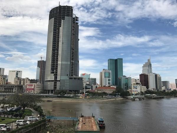 Dự án Sài Gòn One Tower được cho là dự án tai tiếng bậc nhất Sài thành (Ảnh: N.Vũ)