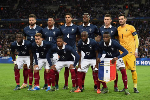 """Đội tuyển bóng đá Pháp với tên gọi quen thuộc """"Những chú gà trống Gô – loa"""""""