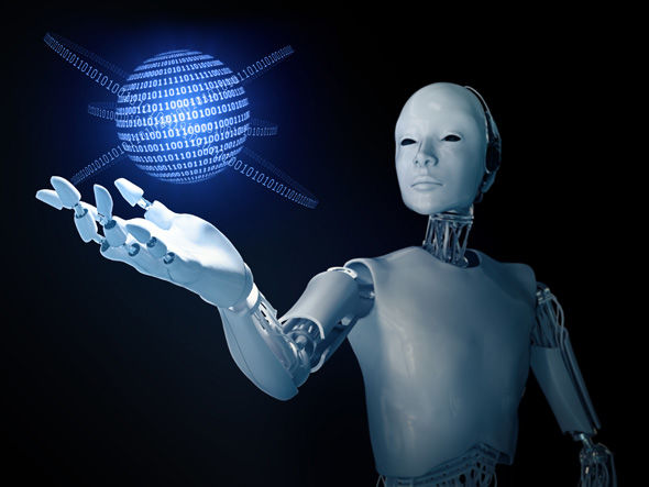 Trí tuệ nhân tạo phát triển quá mạnh có thể trở thành hiểm họa khôn lường với loài người trong tương lai. Ảnh: Express.co.uk