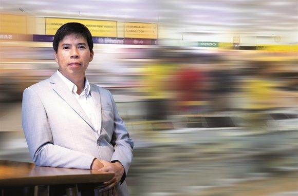 Chủ tịch HĐQT kiêm Tổng Giám đốc Thế Giới Di Động Nguyễn Đức Tài. Ảnh: Thế Giới Di Động