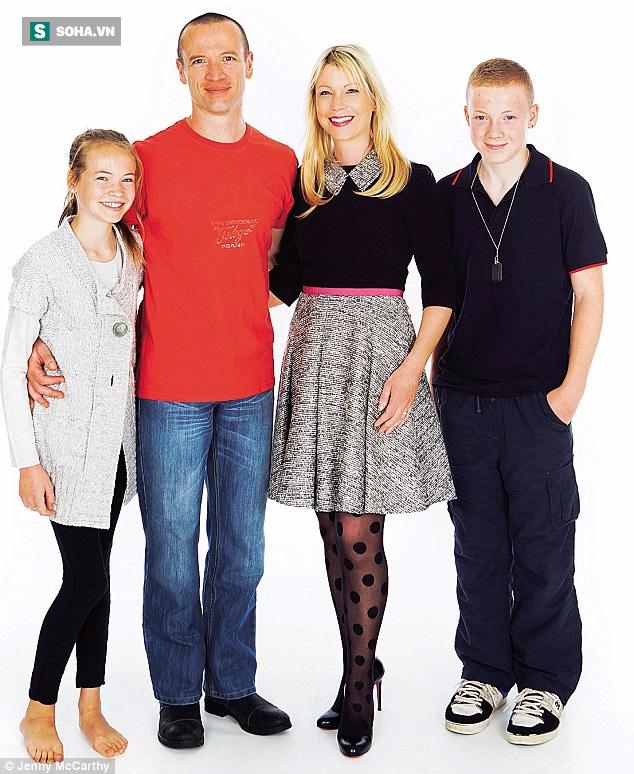 Chị Emma cùng gia đình