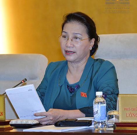Chủ tịch Quốc hội Nguyễn Thị Kim Ngân (Ảnh: Quốc hội)