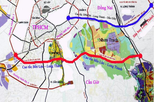 Các trục các con phố kết nối Long An - Sài Gòn đang dần hình thành.