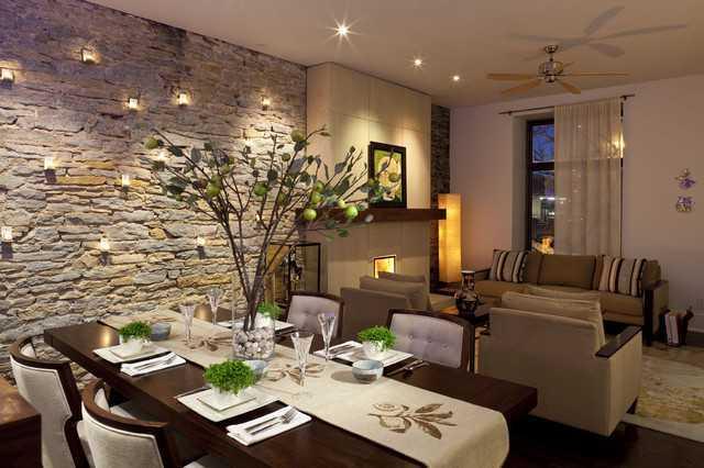 Đá ốp tường là một trong những ý tưởng thiết kế nội thất độc đáo cho ngôi nhà của bạn trở nên cá tính và phong cách.
