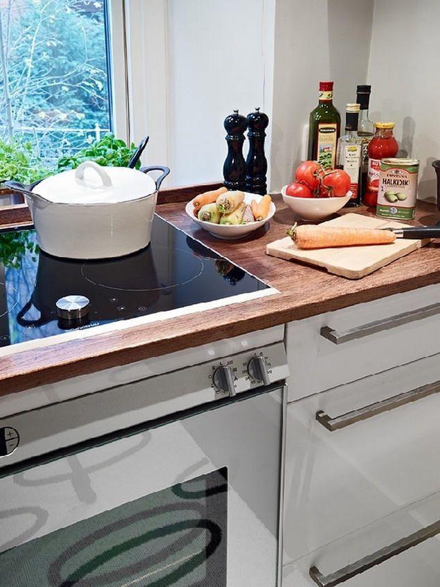 Các thiết bị sử dụng trong bếp đều rất hiện đại và sang trọng.
