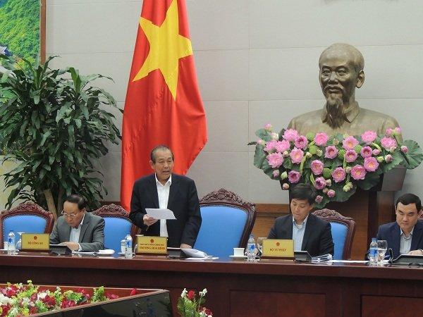 Phó Thủ tướng thường thực Trương Hòa Bình