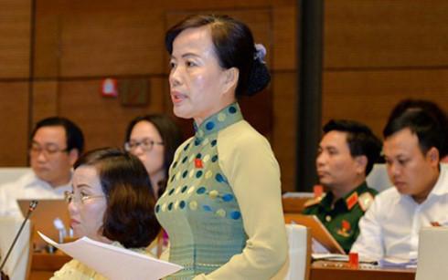 Đại biểu Quốc hội Nguyễn Thị Kim Thúy