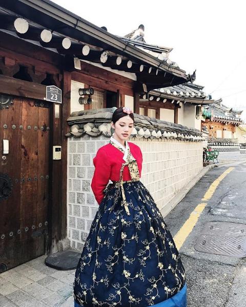 Dịu dàng ở Hàn Quốc.