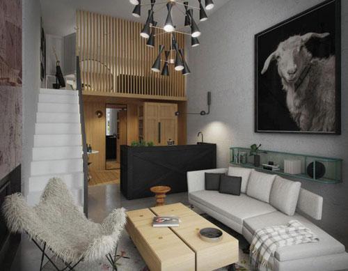 Căn hộ này cũng với diện tích rất nhỏ 25m2. Nhờ cách bố trí nội thất thông minh nên ngôi nhà dù nhỏ nhưng luôn tạo cảm giác hiện đại, tiện nghi mà không hề chật chội, bí bách.
