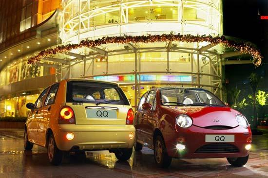 Cherry QQ3 ra mắt thị trường Việt năm 2009, với đơn vị lắp ráp , phân phối chính là công ty TNHH Liên doanh Ô tô Hòa Bình – VMC.