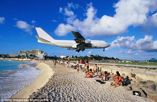 Hình ảnh nổi tiếng của sân bay trước đây.
