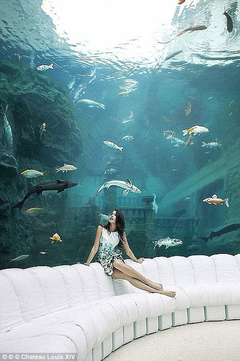 Một thủy cung tuyệt đẹp.