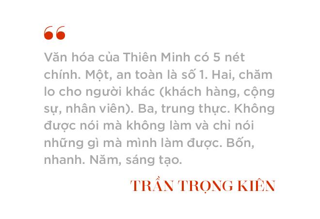 """Chủ tịch Tập đoàn Thiên Minh Trần Trọng Kiên: """"Trừ những gì liên quan đến an toàn còn mọi thứ đều có thể thay đổi"""" - Ảnh 10."""