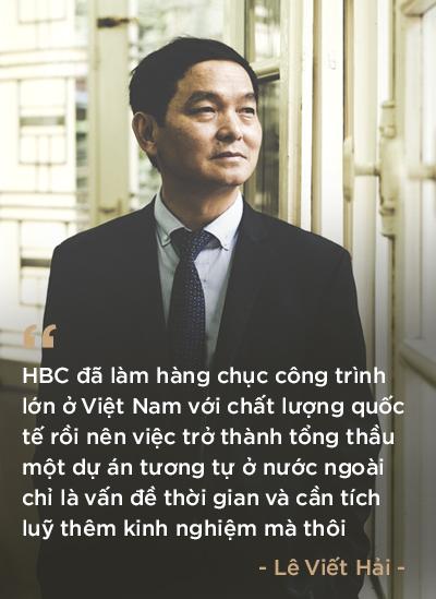 Chủ tịch HĐQT Hòa Bình (HBC): Khi địa ốc đã qua thời bùng nổ mới tính chuyện đi nước ngoài thì đã muộn rồi - Ảnh 9.