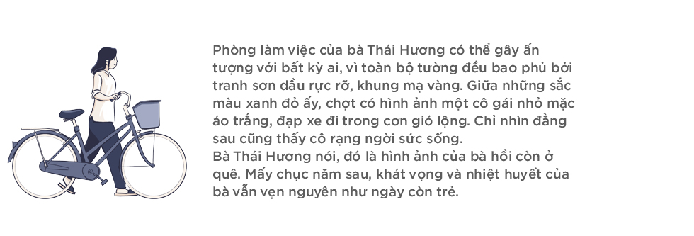 """Bà Thái Hương: """"Tôi chỉ muốn là người phụ nữ của gia đình nhưng số mệnh buộc tôi trở thành một doanh nhân mạnh mẽ"""" - Ảnh 1."""