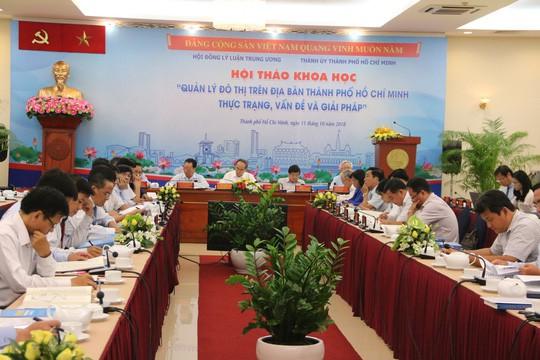 Kiến nghị mở rộng không gian thành thị TP HCM về phía Long An - Ảnh 1.