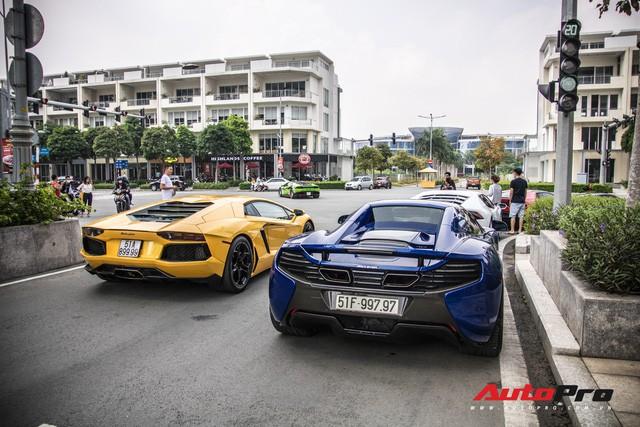 Những siêu xe hàng đầu Việt Nam nối đuôi, khuấy động Sài Gòn - Ảnh 2.