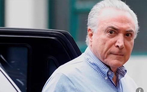 Tổng thống Brazil bị cáo buộc tham nhũng, rửa tiền - Ảnh 1.