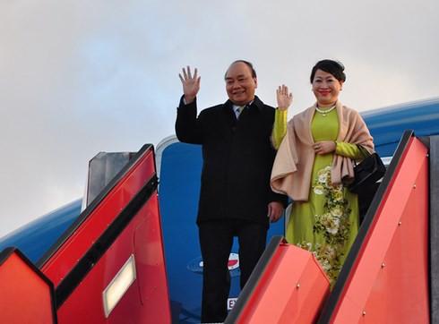 Thủ tướng Nguyễn Xuân Phúc bắt đầu thăm chính thức Đan Mạch - Ảnh 1.