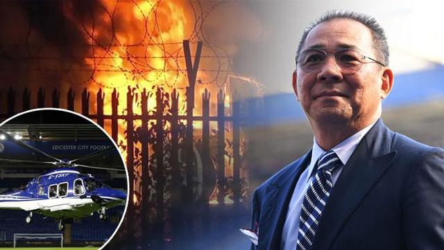 Chính thức: Chủ tịch Vichai tử vong trong tai nạn máy bay kinh hoàng - Ảnh 2.