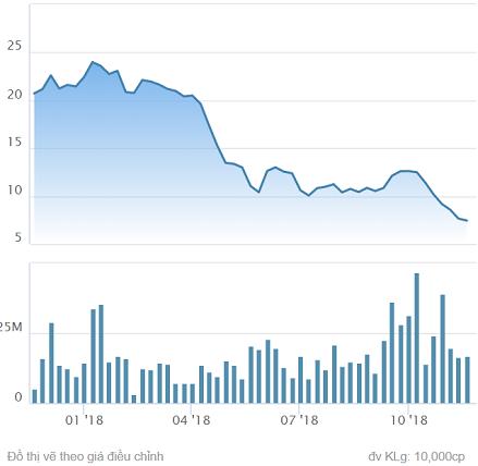 Cổ phiếu Hoa Sen giảm về vùng giá thấp nhất kể từ năm 2013, cầu bắt đáy tăng đột biến trong ngày Black Friday - Ảnh 1.