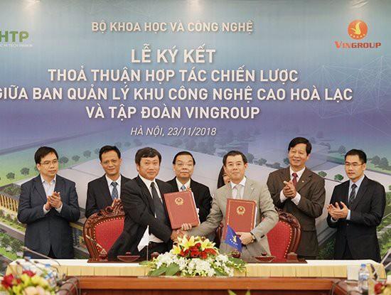 Vingroup sẽ đầu tư 1.200 tỷ đồng cho nhà máy sản xuất thiết bị công nghệ cao tại Khu CNC Hòa Lạc - Ảnh 1.