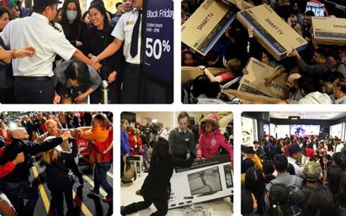 """Hậu Black Friday: Nhiều cái kết """"đắng"""" sau chen chân mua sắm - Ảnh 1."""