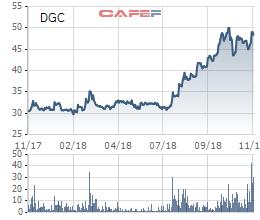 Hóa chất Đức giang (DGC) đạt 708,5 tỷ LNST sau 10 tháng - Ảnh 1.