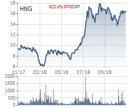 HNG tăng mạnh, ông Võ Trường Sơn muốn phân phối bớt cổ phần tại HAGL Agrico chốt lãi - Ảnh 1.
