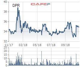 Cao su Đồng Phú (DPR) chốt danh sách cổ đông tạm ứng cổ tức bằng tiền mật độ 40% - Ảnh 1.
