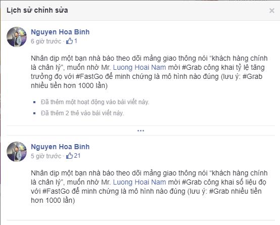 Cãi nhau 30 phút trên sóng truyền hình chưa đủ, lãnh đạo Fastgo và TS. Lương Hoài Nam tiếp tục khẩu chiến trên Facebook, mới nửa ngày đã đá qua lại gần 400 bình luận - Ảnh 3.