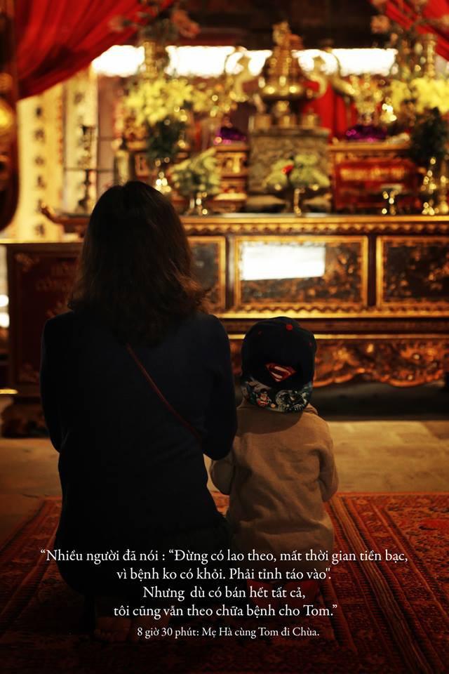 Quang Hải, Đức Chinh bật khóc khi gặp Tôm - cậu bé 4 tuổi bị ung thư não giàu nghị lực - Ảnh 9.